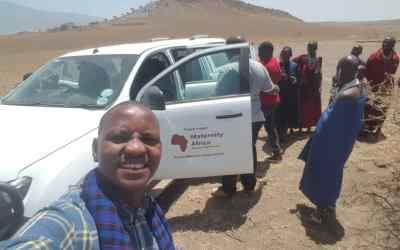 Reaching ladies in rural Tanzania
