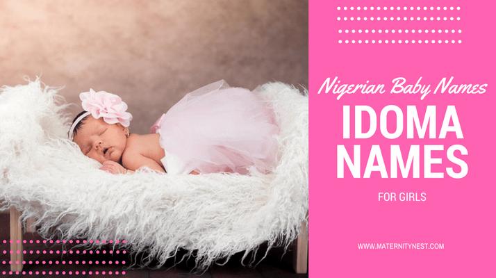Idoma names, feminine Idoma names, female idoma names, Idoma names for girls, common Idoma names