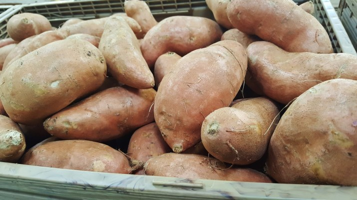 Sweet potatoes and fertility