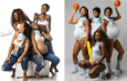 Squad Goals: Four best friends win the internet with their fun maternity photo shoot