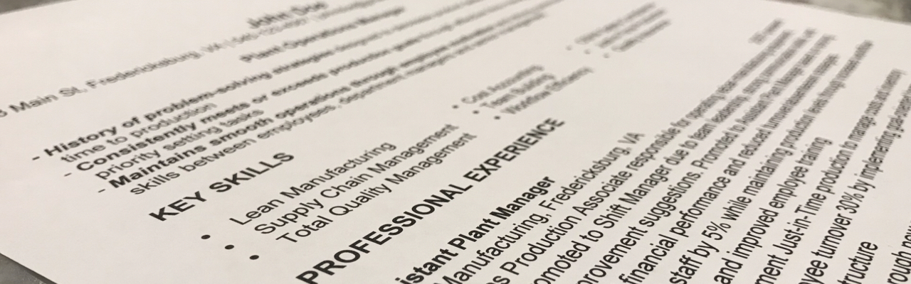 4 Resume Tips for 2018 Matern Staffing