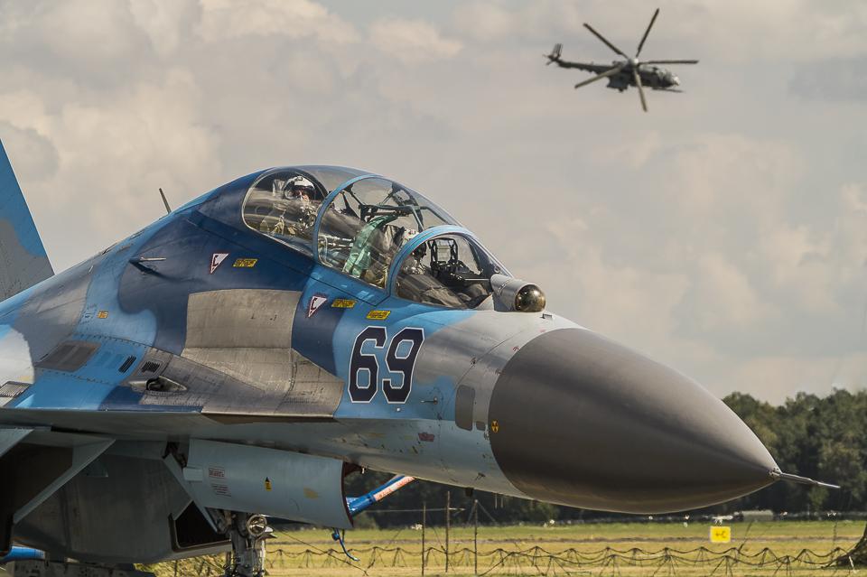 Radom Airshow Su-27 2013