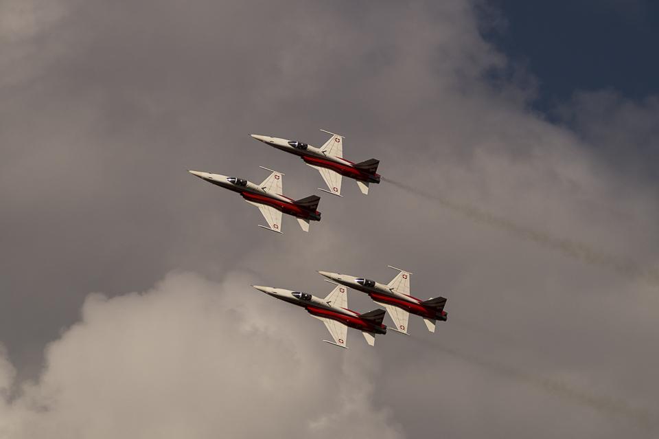 Radom Airshow Patrouille Suisse 2013