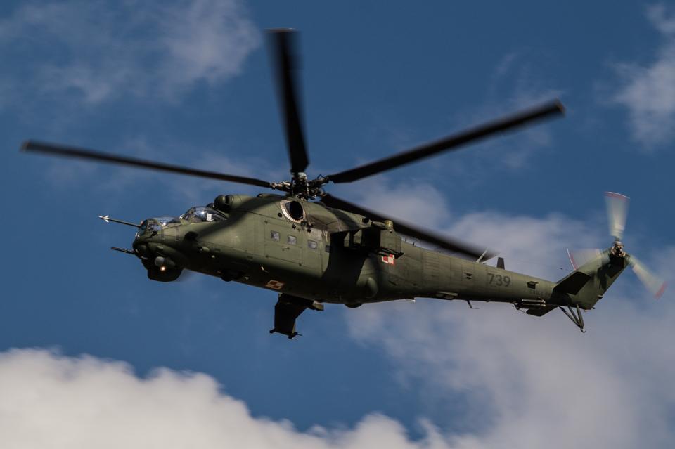 Radom Airshow Mi-24 2013