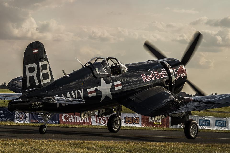 Radom Airshow F4U-$ Corsair 2013