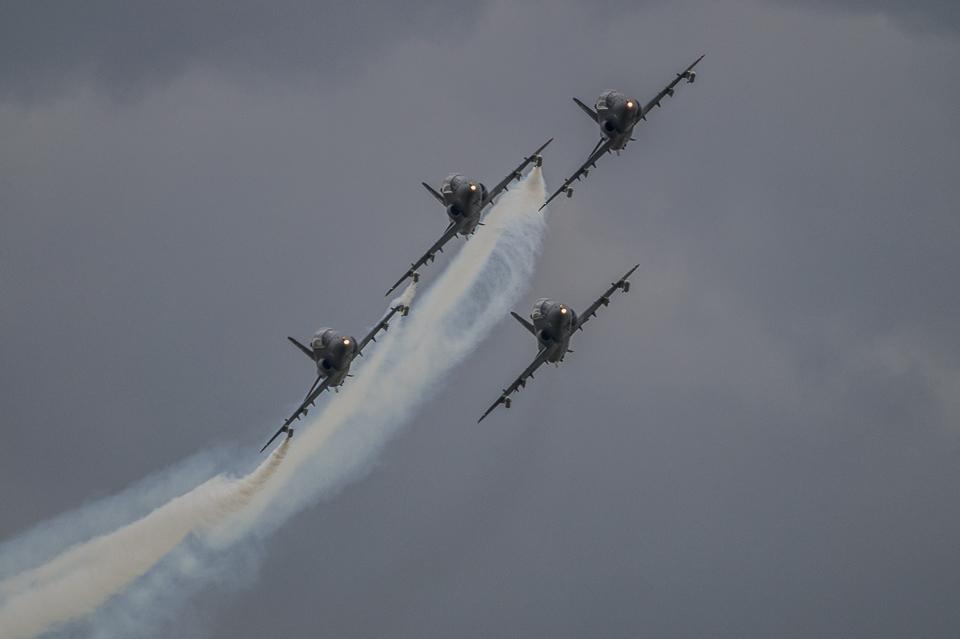 Radom Airshow Midnight Hawks 2013