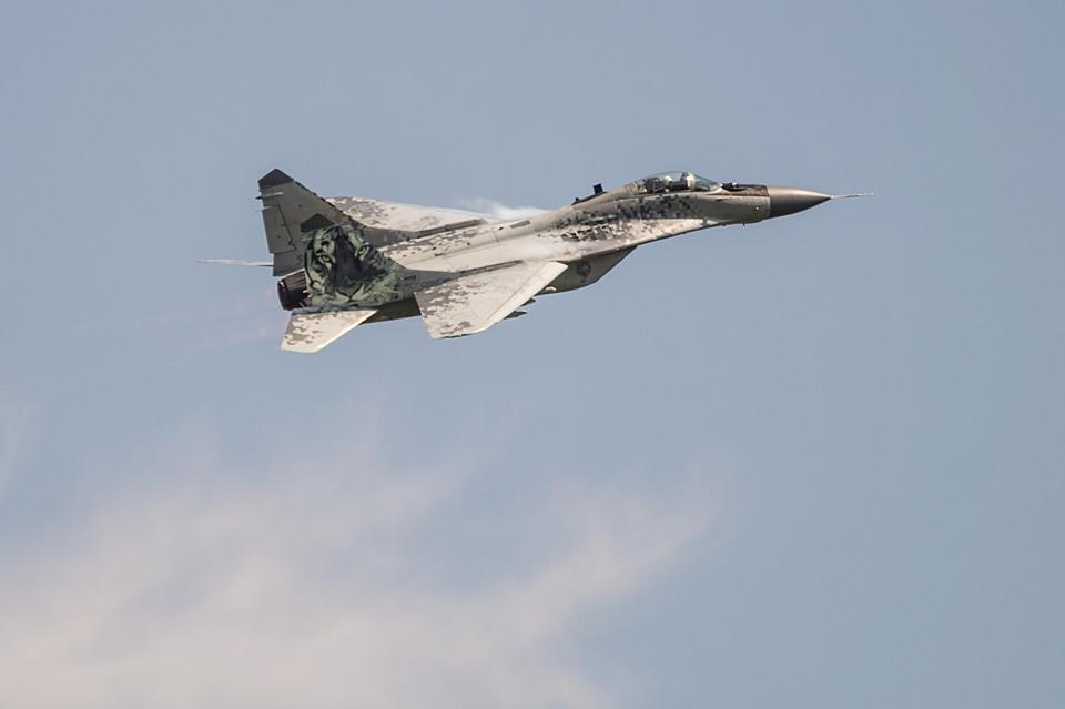 """MiG-29 """"Pixel Tiger"""" SIAF 2013"""