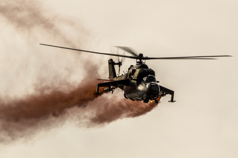 Mi-24 close up, NATO Days 2013 zdjęcia