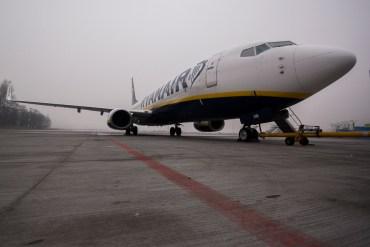Balice - płyta, Ryanair