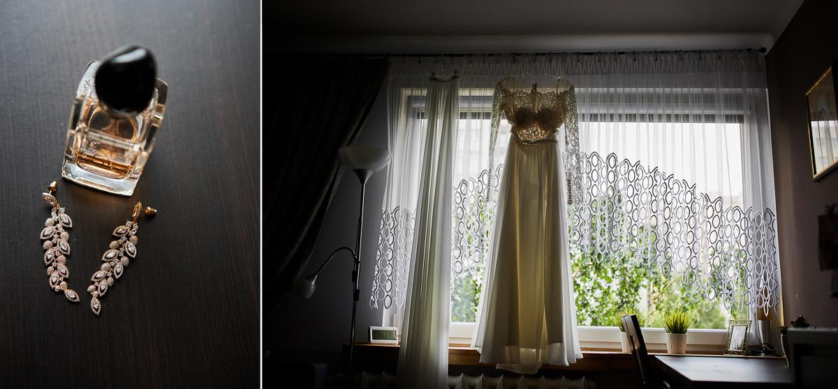 suknia ślubna z koronki,