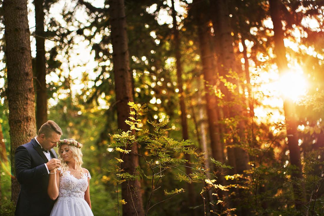 zachód słońca na plener fotograf Pszczyna