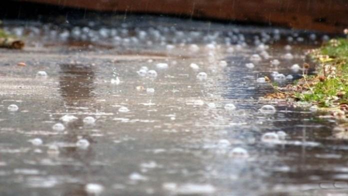 الدعاء عند نزول المطر