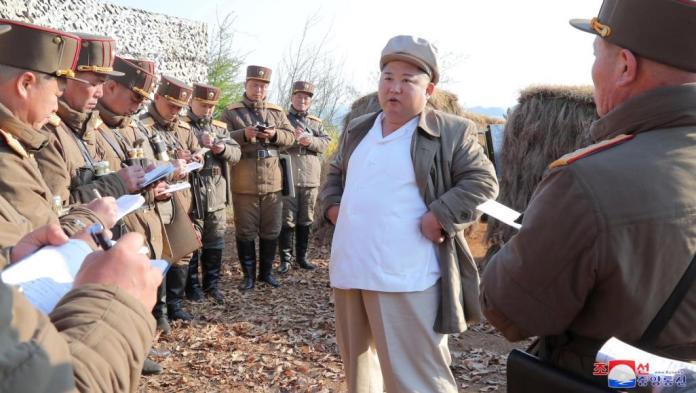 كيم جونغ أون+رئيس