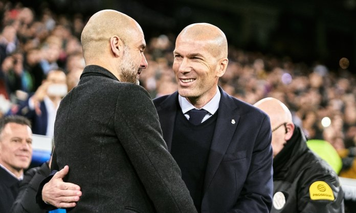 مانشستر سيتي وريال مدريد