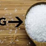 Undvik glutamat i maten