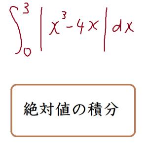 絶対値の積分