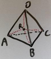 正四面体図2
