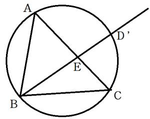 方べきの定理の逆1