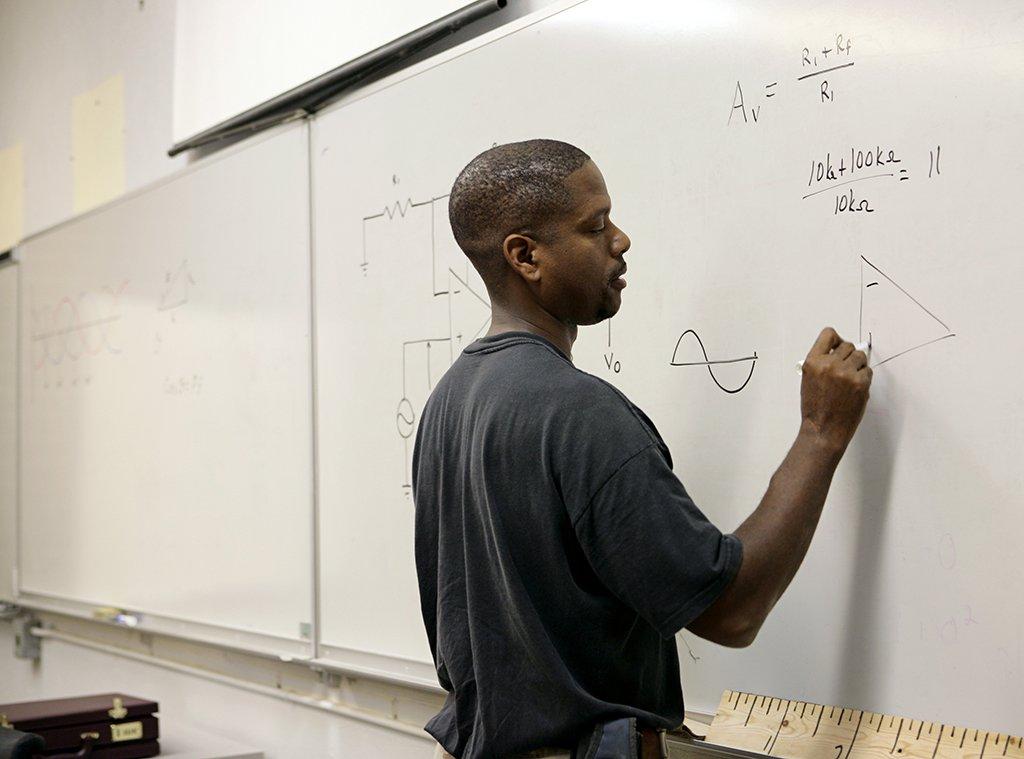 8th grade math student