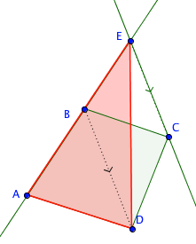 bentuk dengan luas yang sama