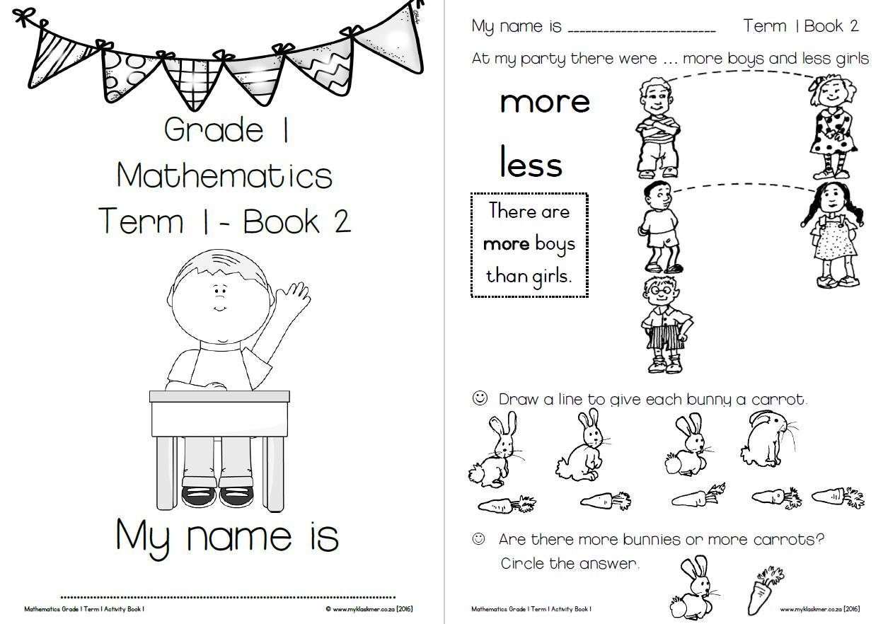 Math Worksheets Class 1 – Math Worksheets [ 882 x 1248 Pixel ]