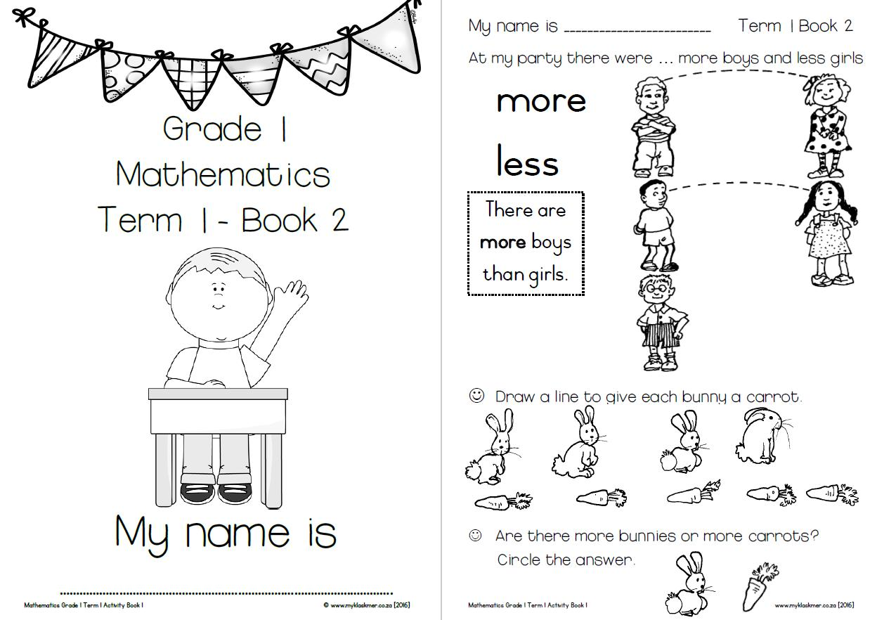 small resolution of Math Worksheets Class 1 – Math Worksheets