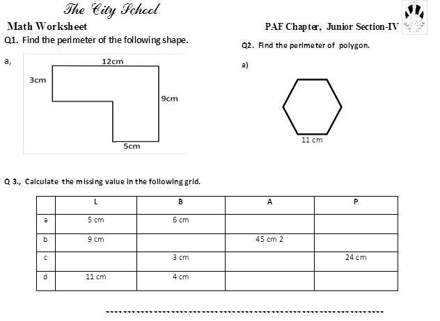 Math Worksheets Class 4 – Math Worksheets
