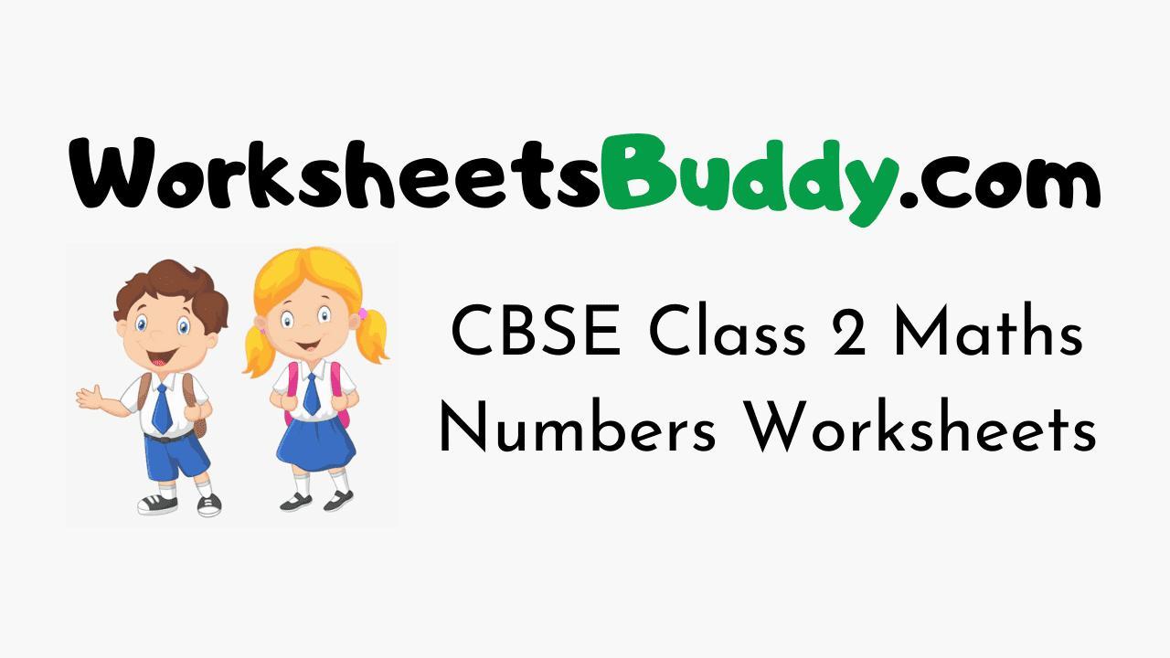 hight resolution of Maths Worksheet For Grade 2 Cbse – Math Worksheets
