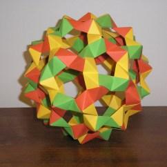 Soccer Ball Modular Origami Diagram Century 5hp Electric Motor Wiring Mathematical