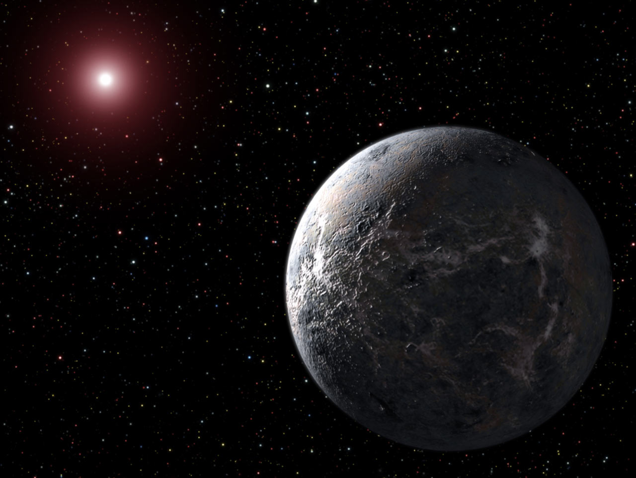 the dwarf planets from earth - photo #27
