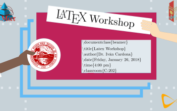 latex workshop banner