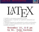 Latex Workshop II