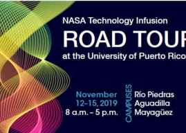Poster Session at the NASA Technology Infusion Road Tour at the University of Puerto Rico – Río Piedras