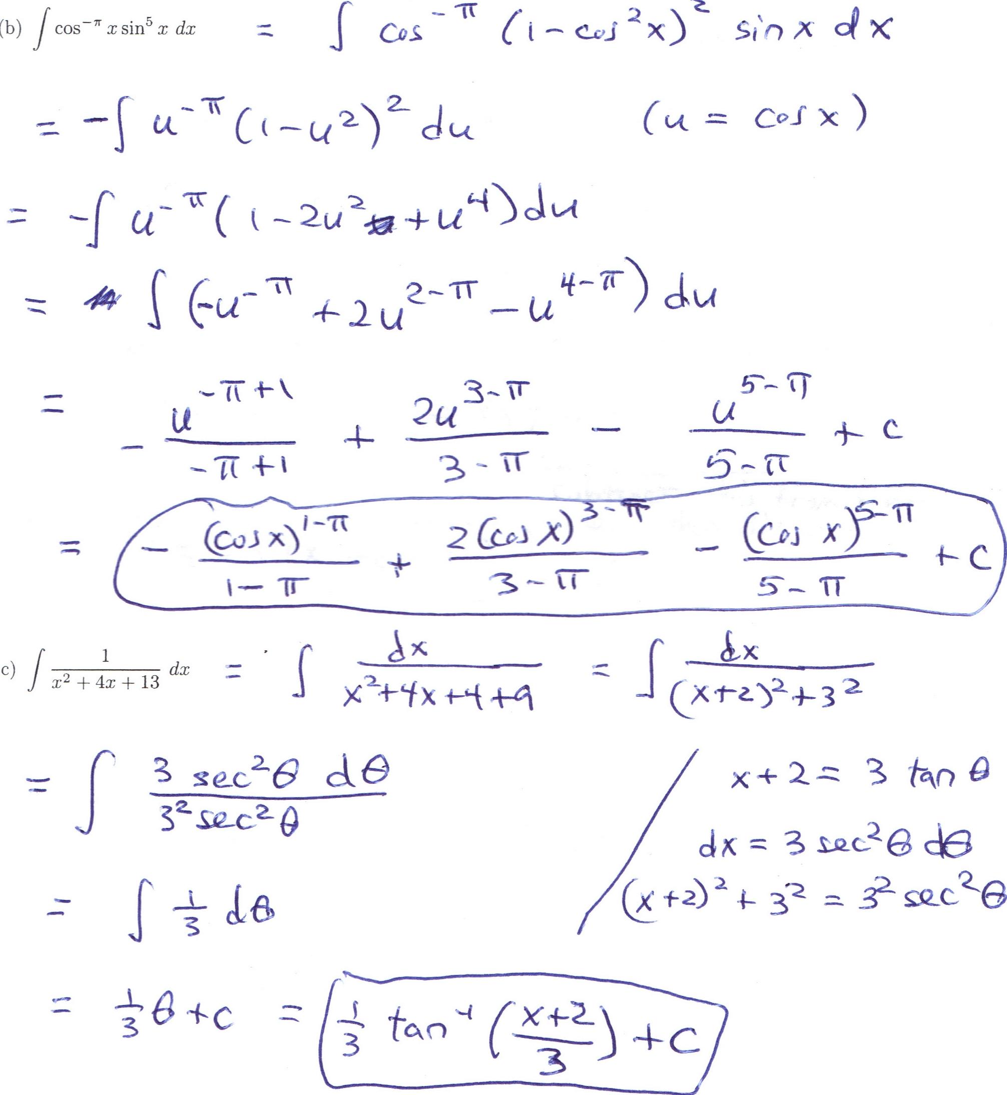 Dr Schechter S Calculus Classes Spring