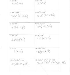 27 Algebra 1 Unit 8 Factoring By Using The Gcf Worksheet - Free Worksheet  Spreadsheet [ 3510 x 2550 Pixel ]