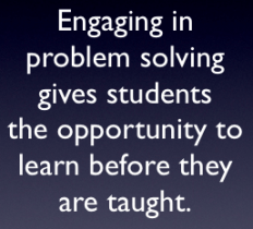 teaching math through problem solving