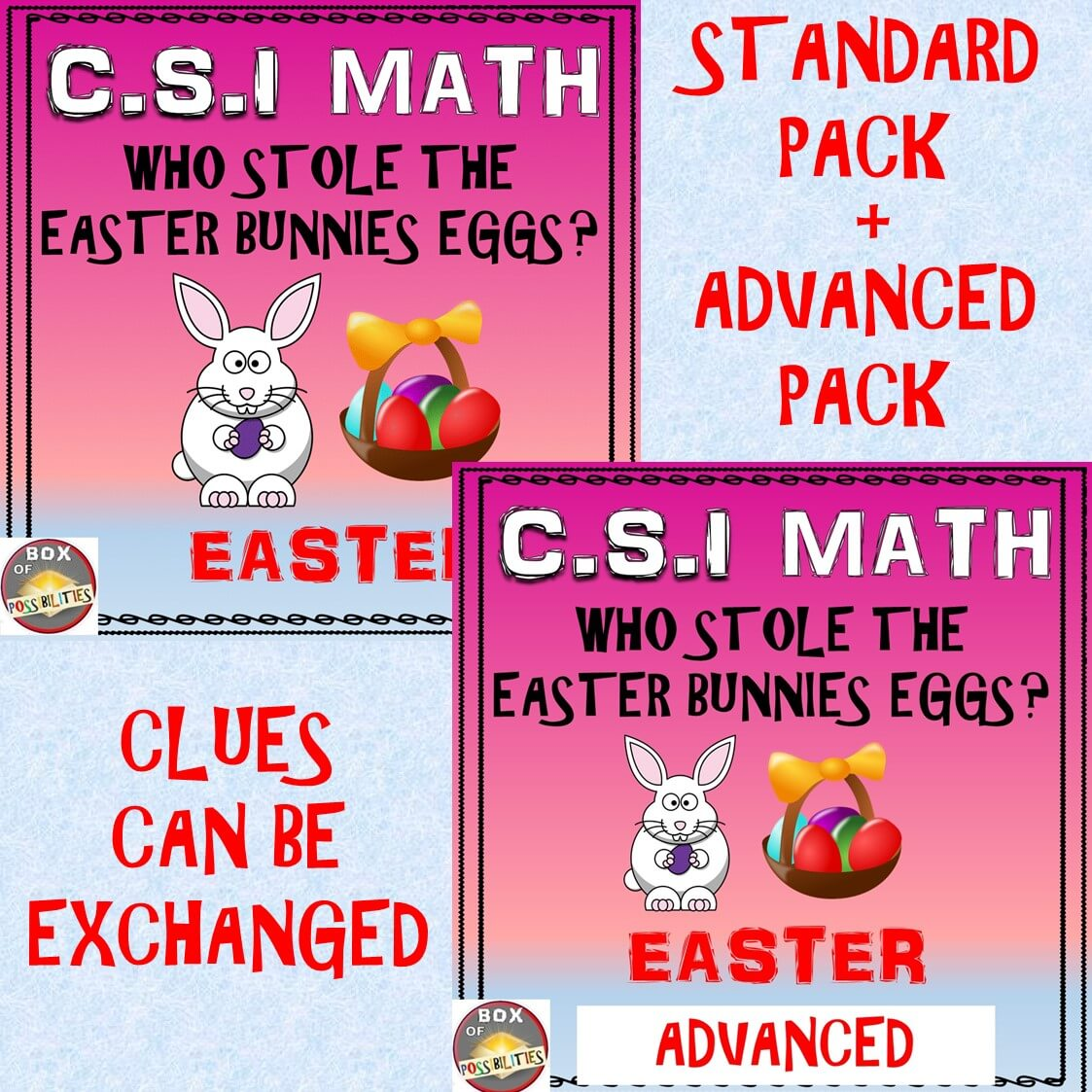 Easter Csi Math Combined Standard Advanced