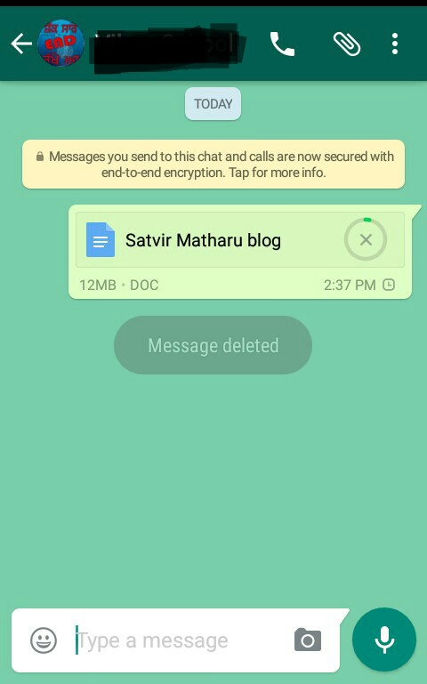 Whatsapp Apk Sending ScreenShot