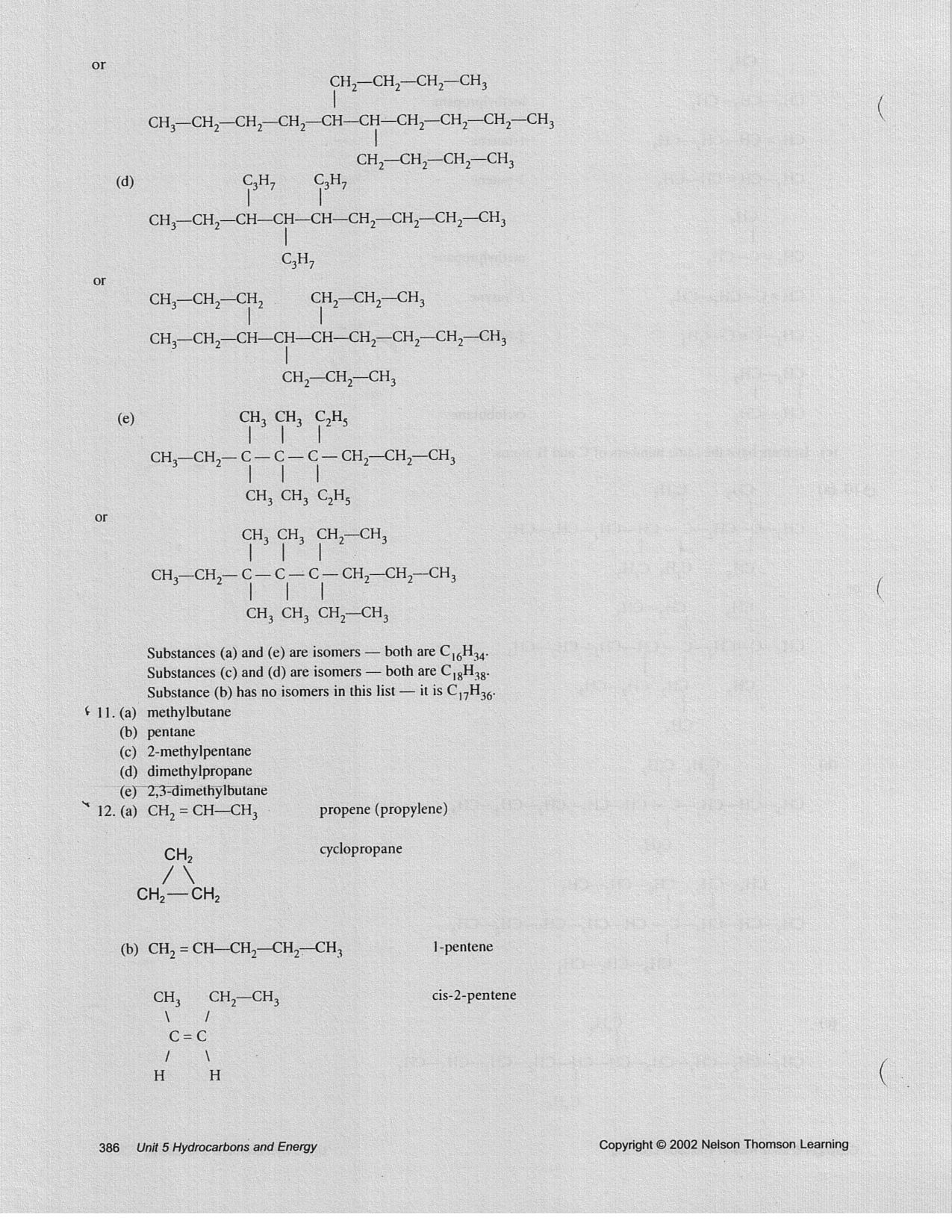 hight resolution of Grade 11 Organic Chemistry Worksheets   Printable Worksheets and Activities  for Teachers
