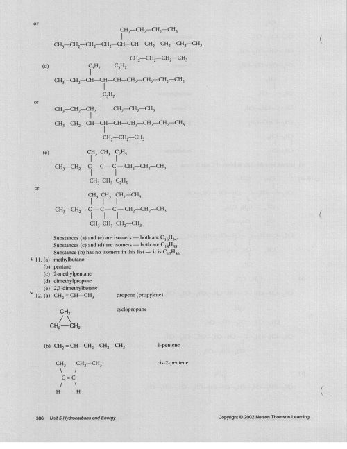 small resolution of Grade 11 Organic Chemistry Worksheets   Printable Worksheets and Activities  for Teachers