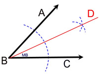 Construction to Bisect Segment and Angle