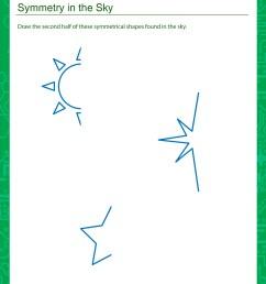 Worksheet of the Week: Symmetry in the Sky   The Math Blaster Blog [ 3300 x 2550 Pixel ]