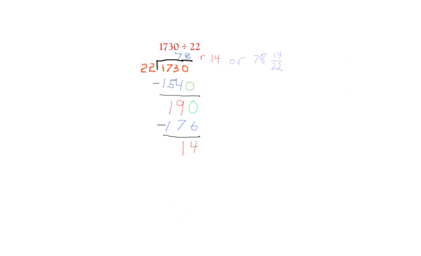 What's Hiding Within Long Division?   Math ∞ Blog