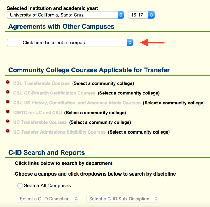 assist choose community college