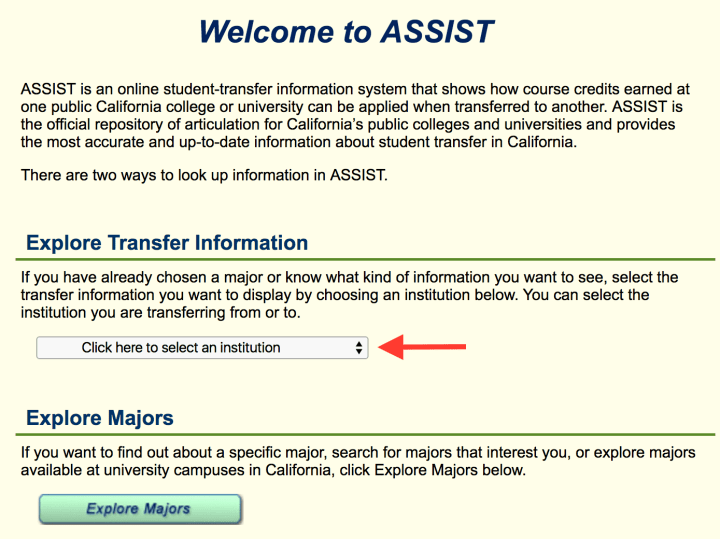 assist home page