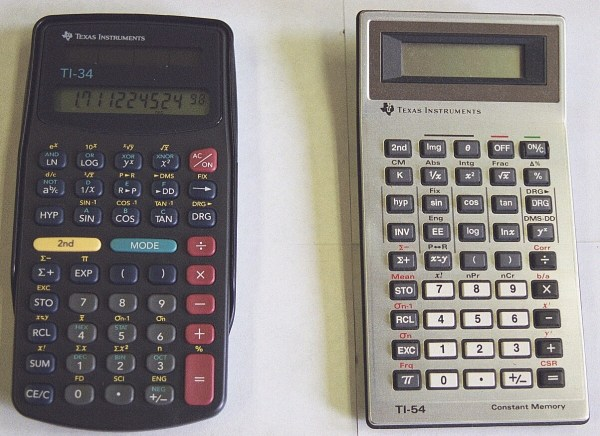 Mark- ' Scientific Calculators