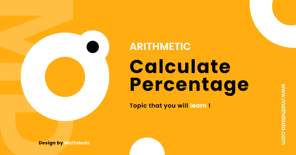 Arithmetic Calculate Percentage