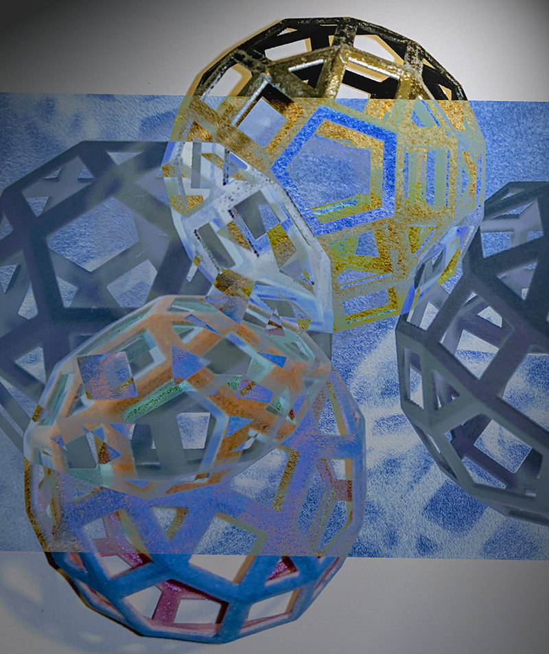 3-D Printed Polyhedra