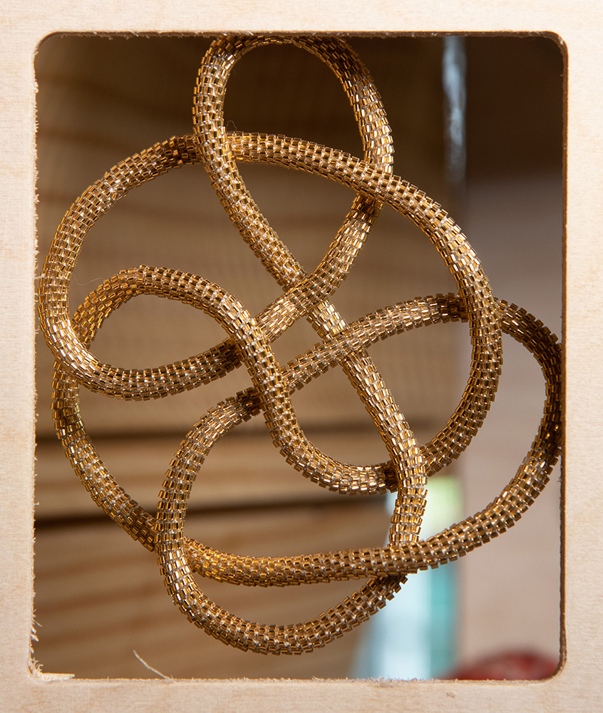 Conway Knot by Susan Goldstine | Mathemalchemy Project