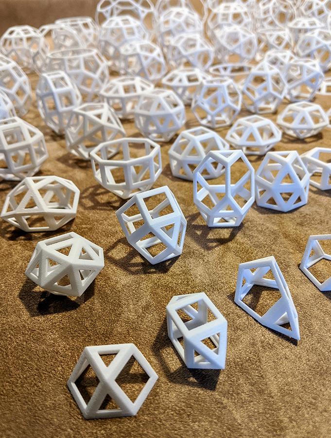 Johnson Solids by Henry Segerman